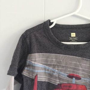 Size 5 Tea Collection boys' helicopter tee